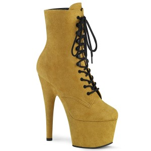 Adore-1020Fs Mustard Faux Suede